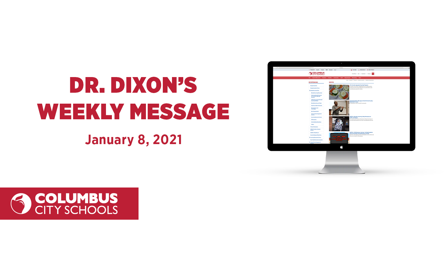 Dixon Weekly Message