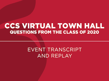 Town Hall transcript and replay