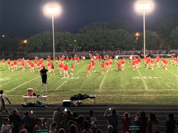 Congratulations to Centennial Marching Band on being chosen the winner of the NBC4 Band of the Week competition. Each week the winner has their entire halftime show broadcast on NBC4i.com.